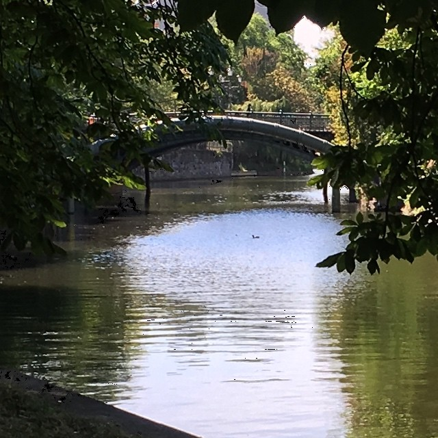 Berlin Kreuzberg Bridge Admiralsbruecke Landwehrkanal