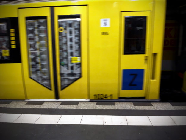 pickpockets in Berlin Public Transport: U-Bahn