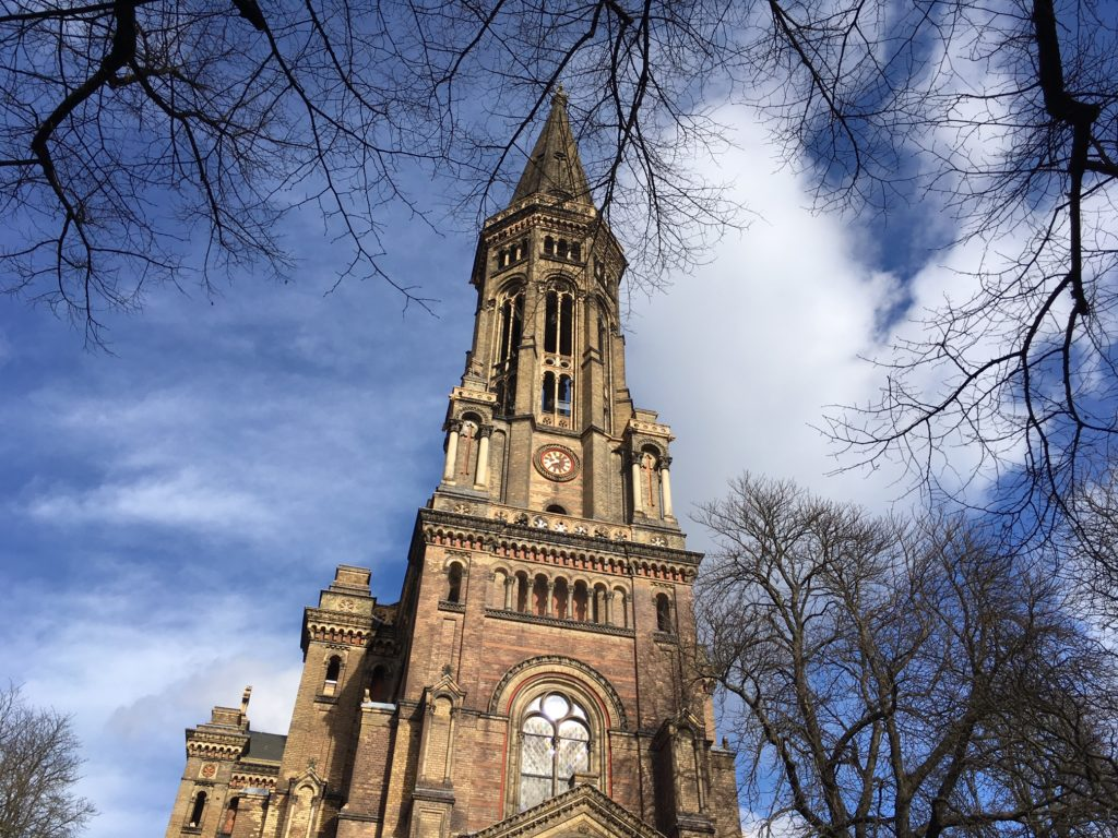 Berlin Public Holidays - Zionskirche in Berlin MItte