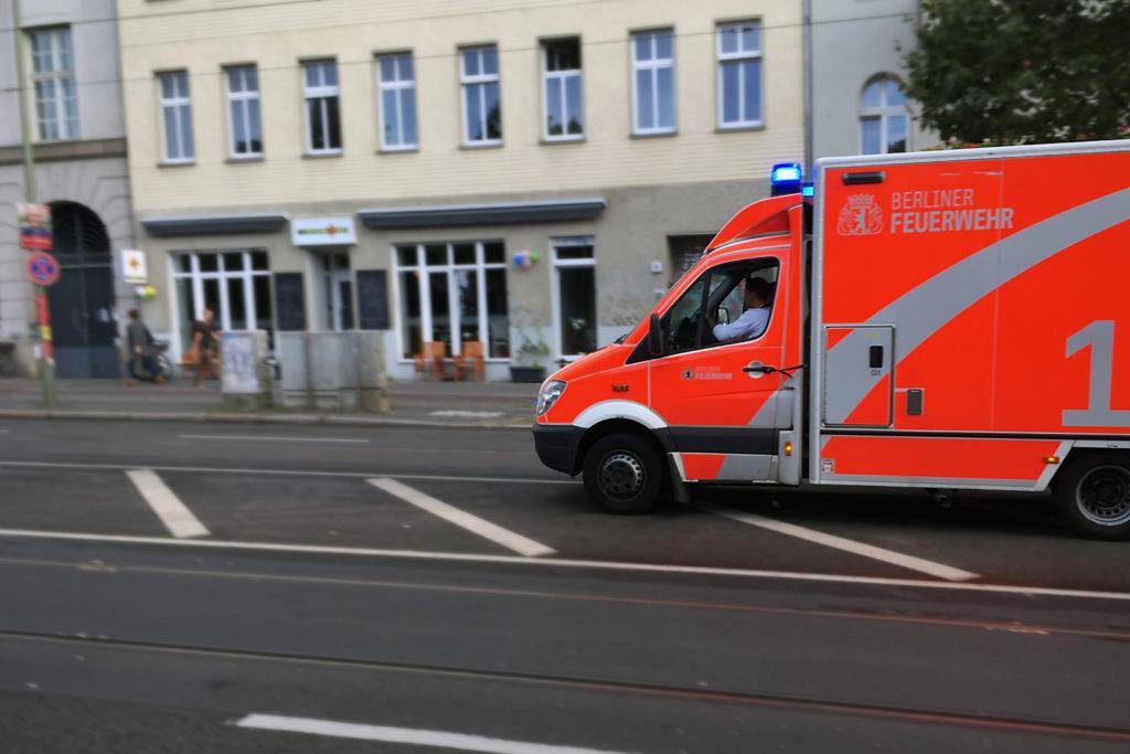 Berlin traffic accidents