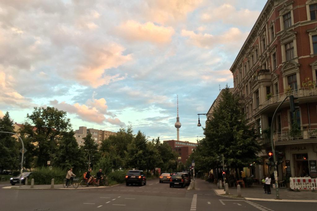 Berlin TV Tower Schoenhauser Allee