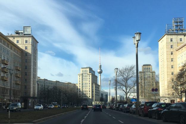 Berlin Karl-Marx-Allee, TV-Tower