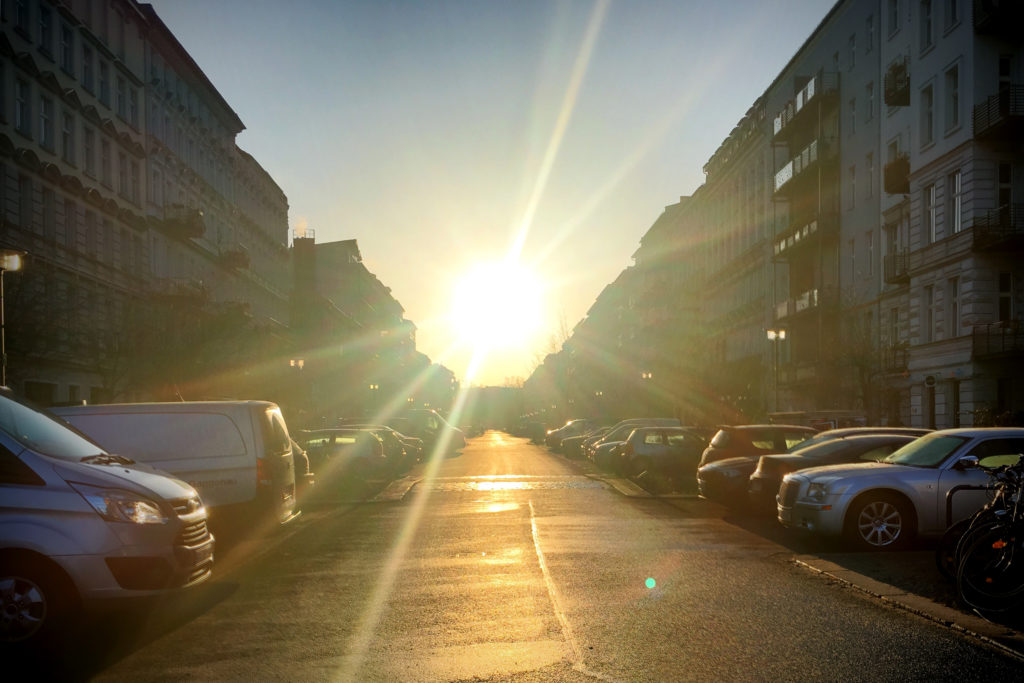 Berlin Sunrise Oderberger Strasse