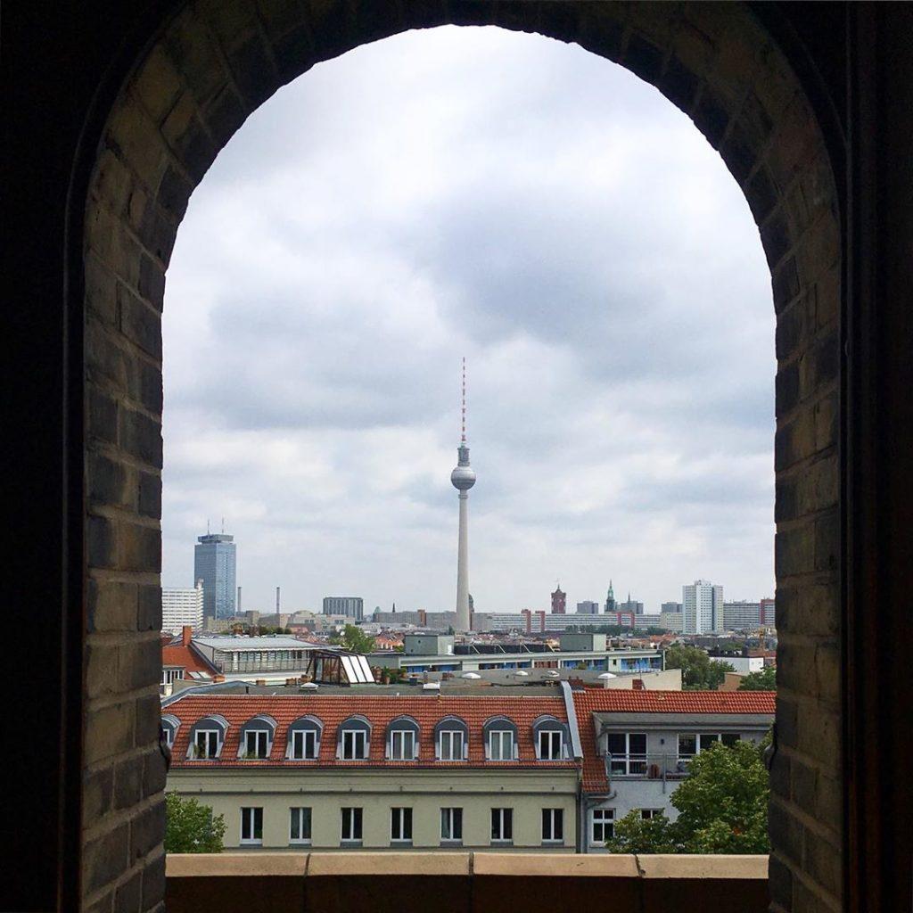 Fernsehturm Zionskirche Berlin
