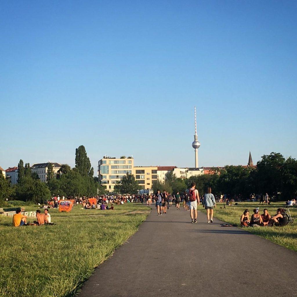 Mauerpark Berlin Prenzlauer Berg
