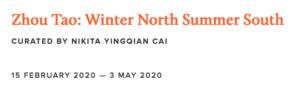 Zhou Tao Winter North Summer South