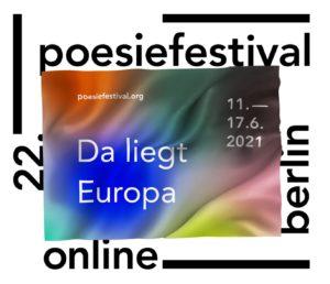 Poesiefestival 2021 Berlin
