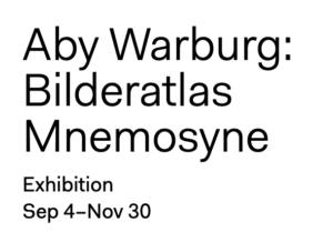 Aby Warburg Bilderatlas Mnemosyne Exhibition HKW Berlin