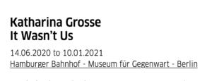 Katharina Grosse It Wasn't Us