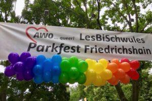 LesBiSchwules Parkfest Friedrichshain