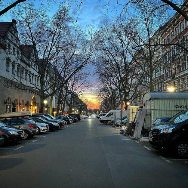 Oderberger Strasse Berlin Prenzlauer Berg