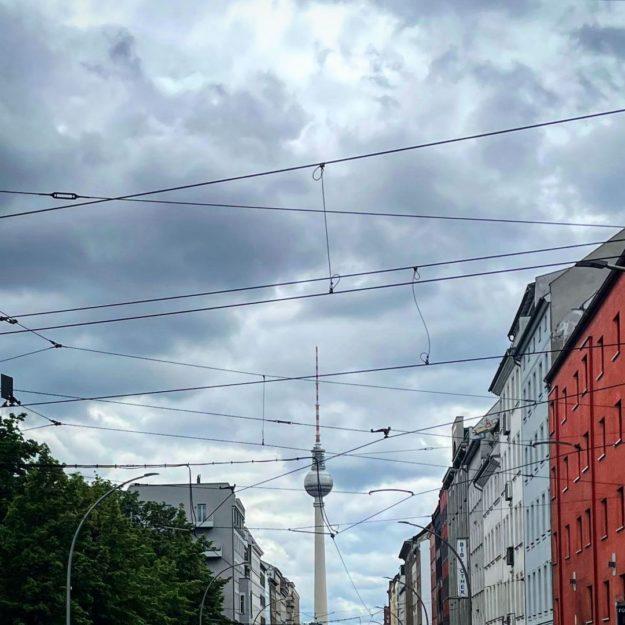 Berlin TV.Tower Brunnenstrasse