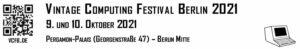 Vintage Computing Festival Berlin 2021